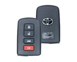 Toyota Orion Avalon Smart Key 2013 4 Button 433MHz 89904-33460