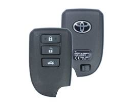 Toyota Yaris Genuine Smart Key 2014 3 Button 433MHz 89904-52491