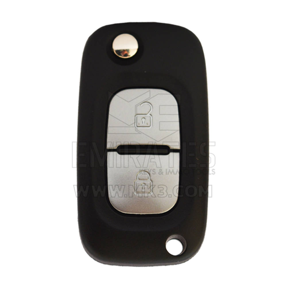 Renault Clio Flip Remote Key Shell 2 Button