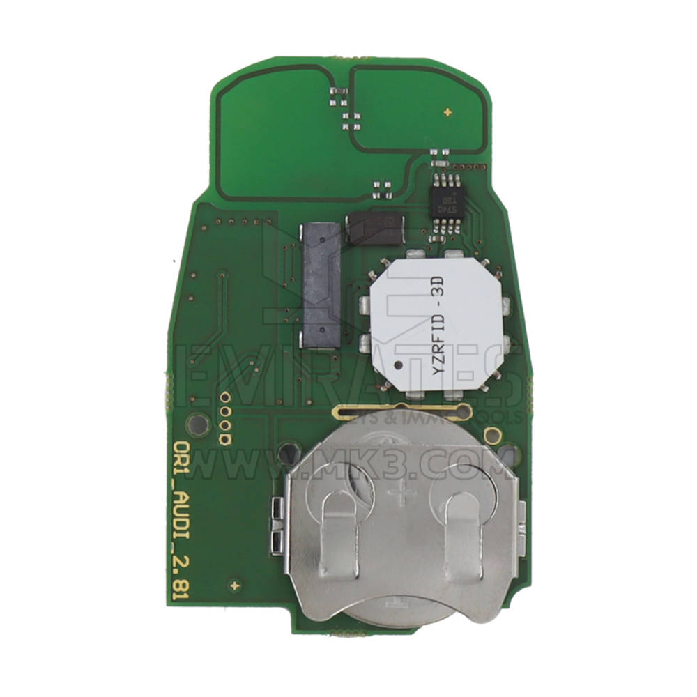 AVDI Abrites TA49 Keyless Key For Audi BCM2 Vehicles 433 MHz