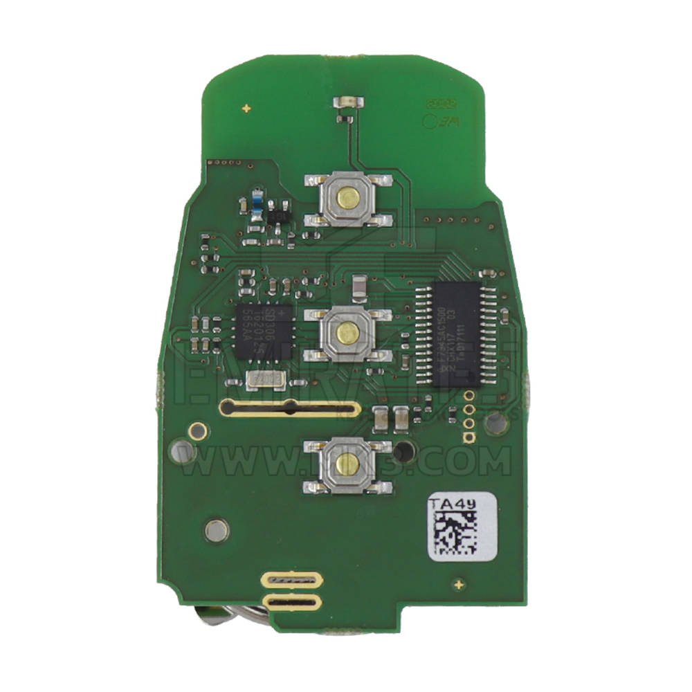 Abrites TA49 Keyless Key For Audi BCM2 Vehicles 433 MHz