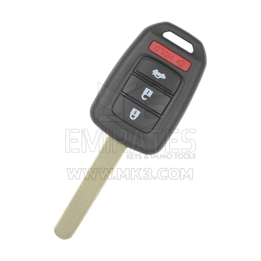 Honda Crv 2017 2016 Remote Key 4 Ons 313 8mhz G Transponder Mk1740 Emirates Keys