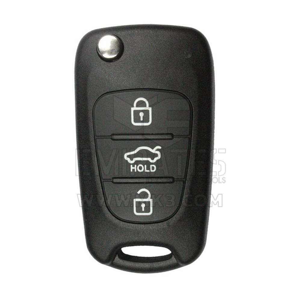 Kia Flip Remote Key Shell Small Hold Trunk 3 Button Hyn14r Mk2157 Emirates Keys