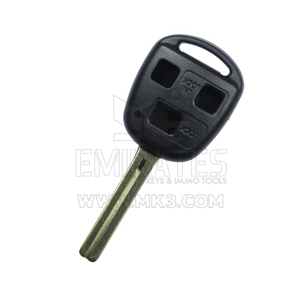 Lexus Remote Key Shell 3 Button Tall Blade TOY40