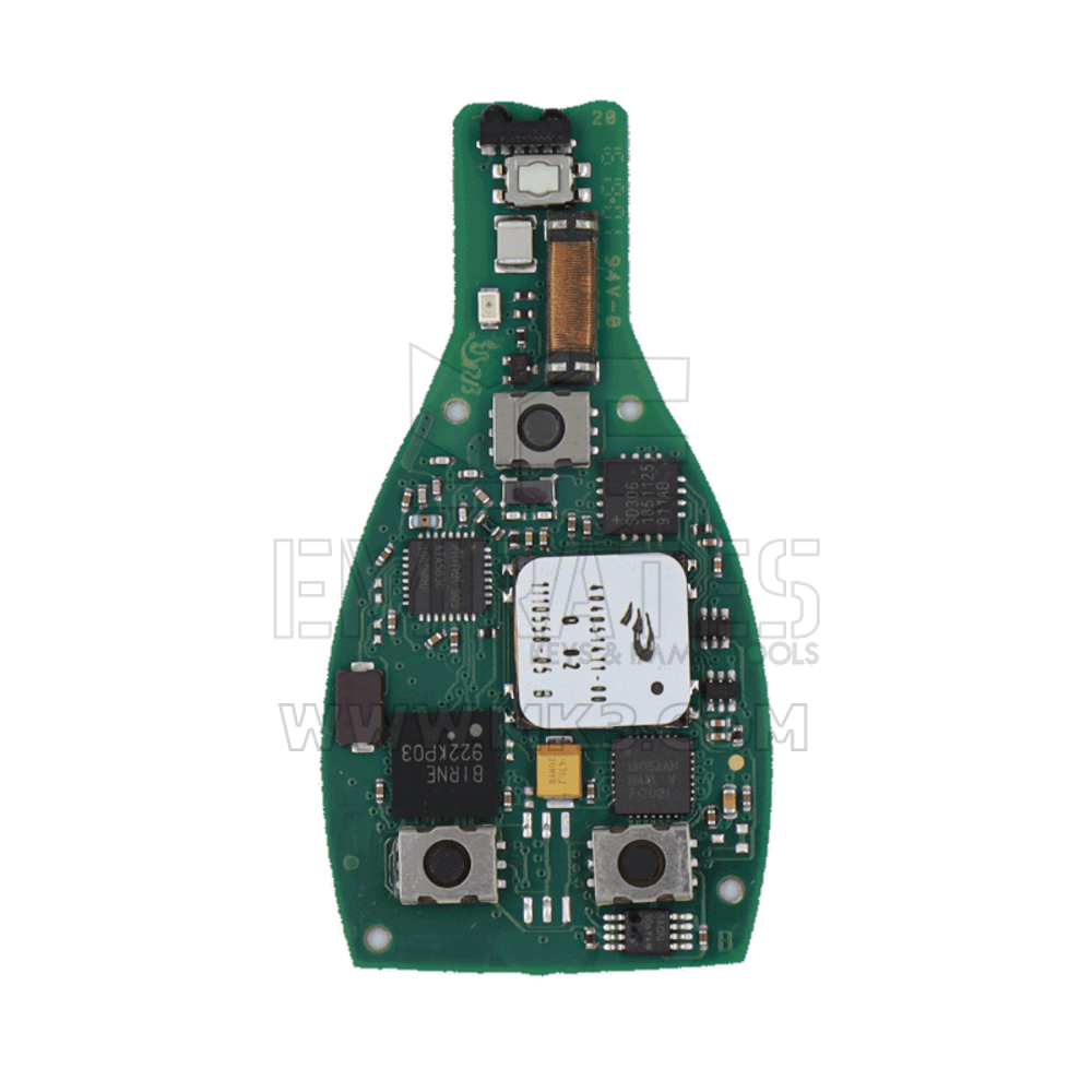 Carte PCB de clé à distance intelligente d'origine Mercedes FBS4 315MHz