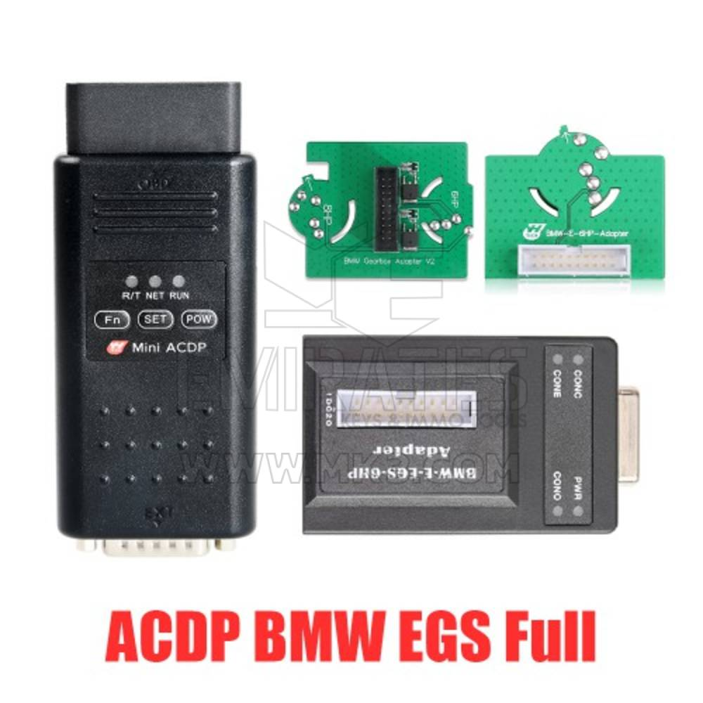 Yanhua ACDP BMW EGS ISN Clearance Kit for 6HP E/F & 8HP E/F/G Chassis With License A51A A51D A50F