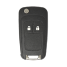Opel Chevrolet Flip Remote Key Shell 2 Buttons