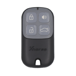 Xhorse Garage Remote Key Wire Universal 4 Buttons Type XKXH00EN