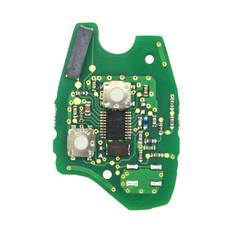Renault Dacia Duster Sandero Symbol Twingo Remote Key PCB 2 Buttons 433MHz AES PCF7961 Transponder
