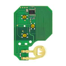 Renault Megane 2 Remote Key Card PCB 3 Button 433MHz High Quality