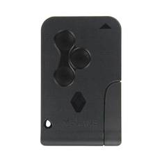 Renault Megan Remote Card Shell 3 Button with Emergency key blade