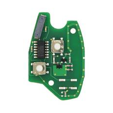 Renault Remote Key PCB 2 Buttons 433MHz PCF7947 Transponder