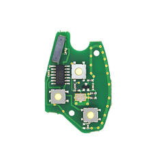 Renault Remote Key PCB 3 Buttons 433MHz PCF7946 Transponder