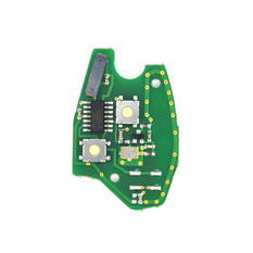 Renault Remote Key PCB 2 Buttons 433MHz PCF7946 Transponder