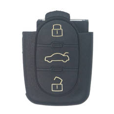 Audi Remote Key Shell 3 Buttons with Small Battery Holder