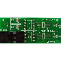 MSOP 8Pin Adapter Can use for Orange5 and many programmer