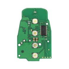 Audi Smart Remote Key PCB Non Proximity Type 4 Buttons 868MHz