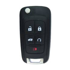GMC Terrain Genuine Flip Remote Key 2010 2018 5 Button 315MHz 5912548