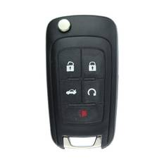Chevrolet Camaro Flip Remote Key 5 Button 315MHz