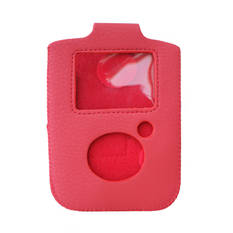 Handy Baby Red Leather Holster