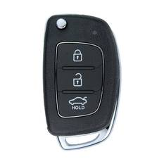 Hyundai Accent Genuine Flip Remote Key 2014 3 Button 433MHz 95430-1RAB1