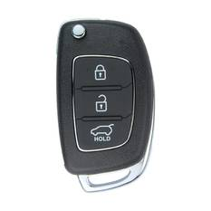Hyundai Santa Fe Genuine Flip Remote Key  2013 3 Button without Transponder 433MHz 95430-2W501
