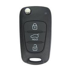 Hyundai I20 Genuine Flip Remote Key 3 Button 433MHz 2011 Chip 46 95430-1J000