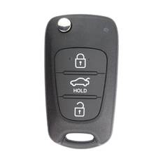 Hyundai Elantra Genuine Flip Remote Key  2013 3 Button 433MHz 95430-3X100