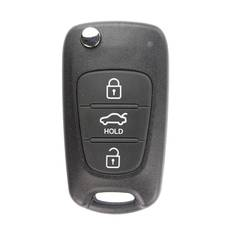 Hyundai Accent Genuine  Flip  Remote Key 2012  3 Button 433 MHz  without Transponder
