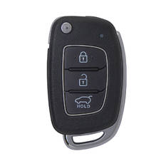 Hyundai I10 Genuine Flip Remote Key 2016 Without Chip 3 Buttons 95430-B9000