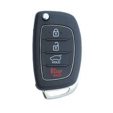 Hyundai Tucson Genuine Flip Remote Key 2013 2014 4 Button 433MHz 95430-2S801