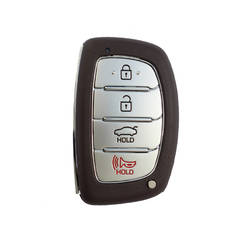 Hyundai Elantra Genuine Smart Key Remote 4 Button 433MHz 2016 2017 95440-F2000  95440-F3000