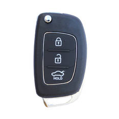 Hyundai Accent Genuine Flip Remote Key 2017 3 Buttons 433MHz 95430-1RAC1