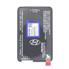Hyundai Azera 2018 Genuine Smart Key Card 433MHz 95443-G81004X