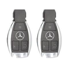 Pair Of Mercedes 222 BGA Original Remotes 3 Buttons 433MHz