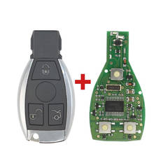 Mercedes BE Chrome Remote 315MHz 3 Button