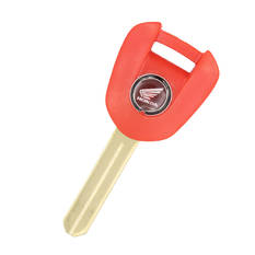 Honda Motorbike Transponder Key Shell Red Color Type 1