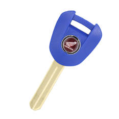 Honda Motorbike Transponder Key Shell Blue Color Type 9