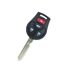 Nissan Sentra Remote Key Shell 4 Button