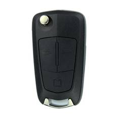 Opel Vectra C Genuine Flip Remote Key 2006 3 Button 433MHZ