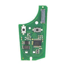Opel Corsa D Meriva Remote Key PCB 2 Buttons 433MHz PCF7941 Transponder