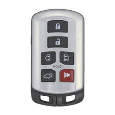 Toyota Sienna 2014 Smart Remote Key 6 Buttons 315MHz Aftermarket PCB with Used Shell