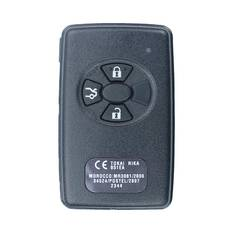Toyota Corolla Genuine Smart Key 2014 African Type 3 Button 433MHz 89904-12042 89904-12043