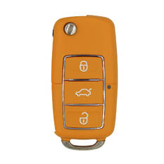 Xhorse VVDI Key Tool VVDI2 Wire Flip Remote Key 3 Button Orange  XKB503EN