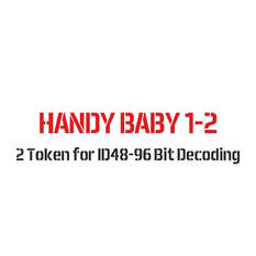 Handy Baby 1 & Handy Baby 2 Token for ID48-96 Bit Decoding