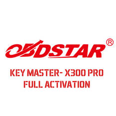Key Master- Key Master DP- X300 Pro - X300 DP Full Option Activation