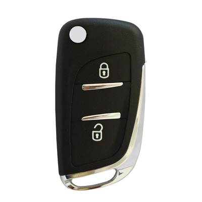 Citroen Flip Remote Shell 2 Button without battery