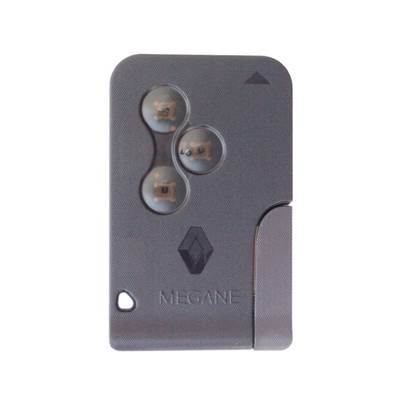 Renault Megan 2 Remote Key Card 3 Button 433MHz High Quality