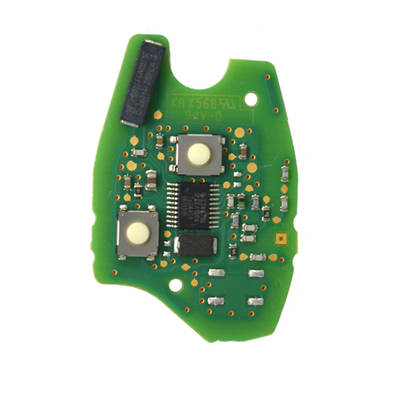 Renault Original Remote Board 2 Buttons  PCF61