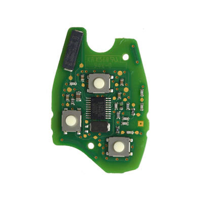 Renault Original Remote Board 3 Buttons PCF61